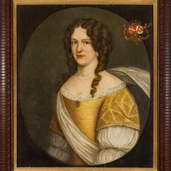 Portret van Georgia Walburgis van Steenhuys