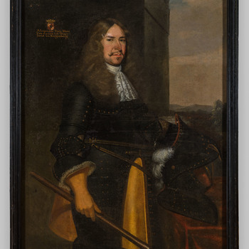 Portret van Alexander des H.R. Rijksvrijheer van Spaen