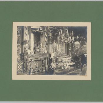 Oude eetkamer van kasteel Biljoen