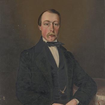 Portret van een onbekende heer