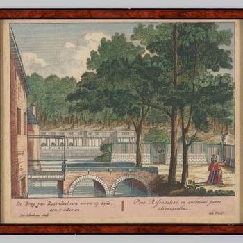 De kasteelbrug van Rosendael