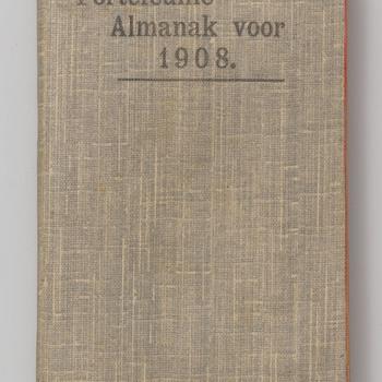 Zakagenda van Françoise Willemina Maria barones van der Borch van Verwolde uit 1908