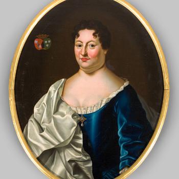 Portret van Anna Margaretha van Bocholt