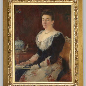 Portret van Ada Catharina barones Torck