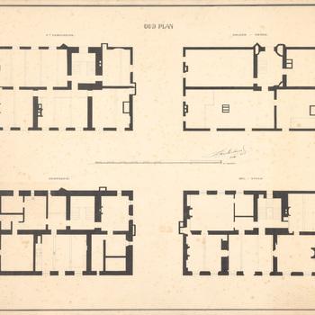 De plattegronden van het oude huis Scherpenzeel