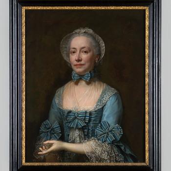 Portret van Elisabeth Anna Maria van Riebeeck