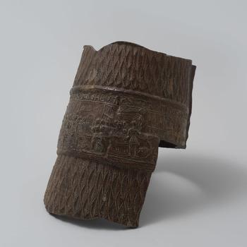 Fragment van een snelle met voorstellingen van koning Herodes