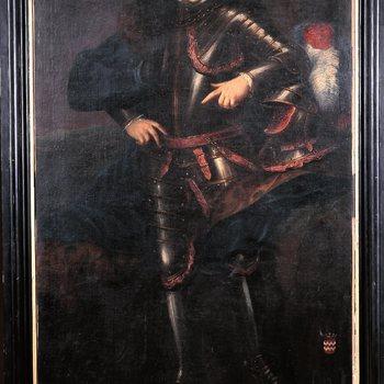 Portret van Willem Bertram vrijheer Van Quadt