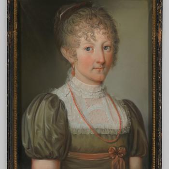 Portret van jkvr. Johanna Reiniera Maria van der Heyden