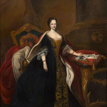 Portret van Margaretha van Reede