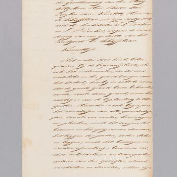 Manuscript van J.H. van Zuylen van Nievelt
