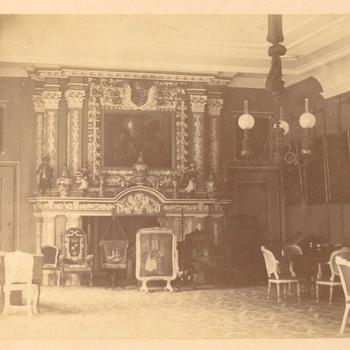 Interieurfoto van kasteel Keppel