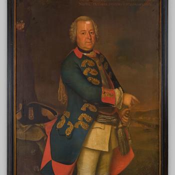 Portret van Johan Hendrik Frederik des H.R. Rijksvrijheer van Spaen