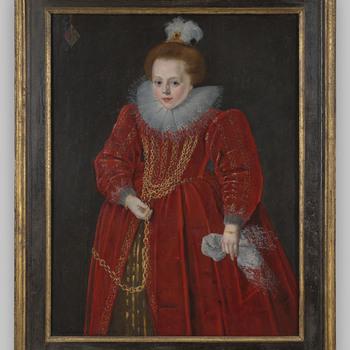 Portret van Catharina van Arkel