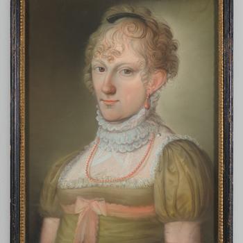 Portret van Louisa Juliana Francisca Antoinette van der Heyden