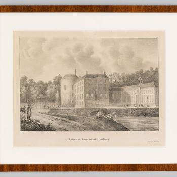 Gezicht op kasteel Rosendael
