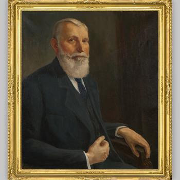 Portret van Johann Heinrich Lüps