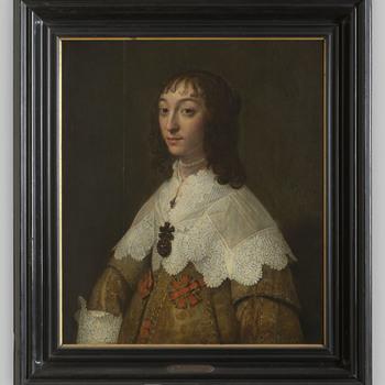 Portret van Johanna Barbara de la Kethulle