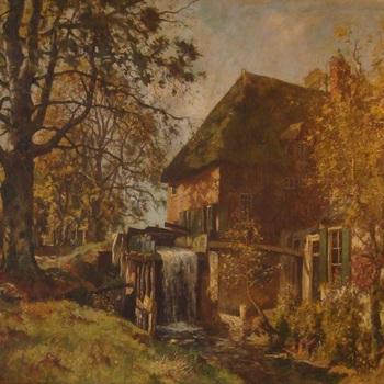 Watermolen bij Cannenburch