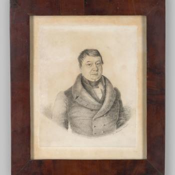 Portret van een man, waarschijnlijk Pieter Bouwens