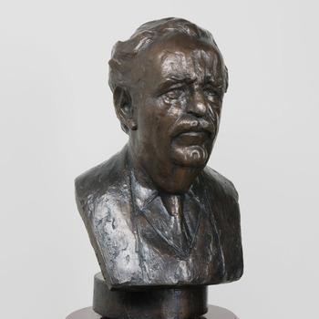 Portretbuste van Allard Philip Reinier Carel baron van der Borch van Verwolde