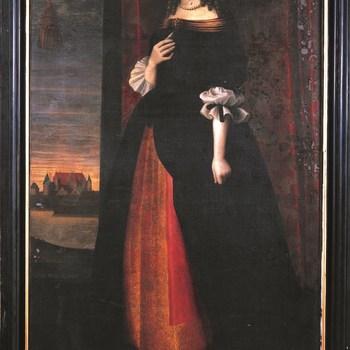 Portret van Maria Torck