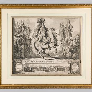 Ruiterportret van Willem III, prins van Oranje