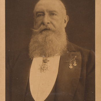 Portretfoto van Allard Philip Reinier Carel baron van der Borch van Verwolde