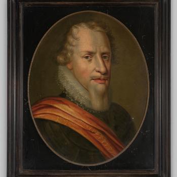 Portret van prins Maurits van Oranje-Nassau
