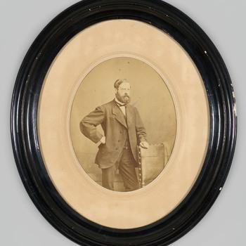 Portretfoto van een onbekende heer