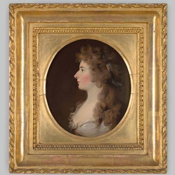 Portret van Henriette Christine Alexandrine Torck
