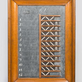Scorebord voor het potspel