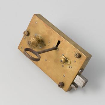 Deurslot met sleutel