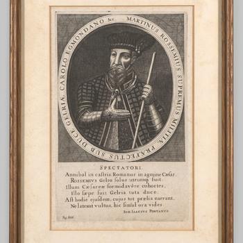 Portret van Marten van Rossem