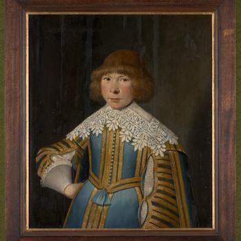 Kinderportret van Alexander van Spaen