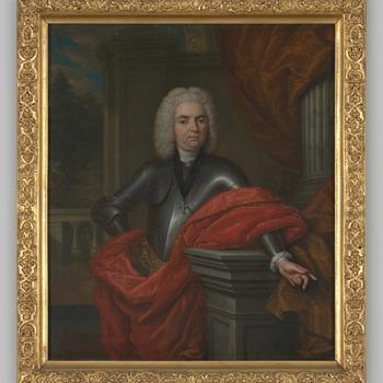 Portret van Frederik Willem Torck