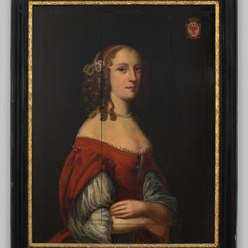 Portret van Hendrina van Arnhem