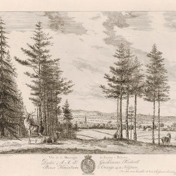 Landschapsgezicht vanaf de Keienberg te Beekhuizen