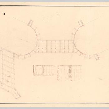 Detailontwerp van de brug bij huis Schaffelaar