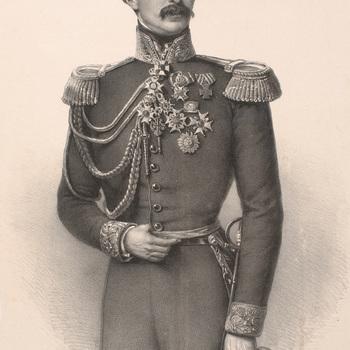 Portret van jhr. Eduard August Otto de Casembroot