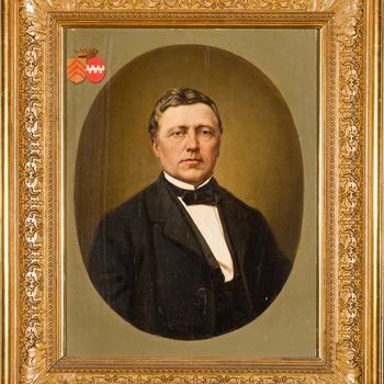 Portret van Gijsbrecht Hendrik Willem Laurens baron van Dorth tot Medler
