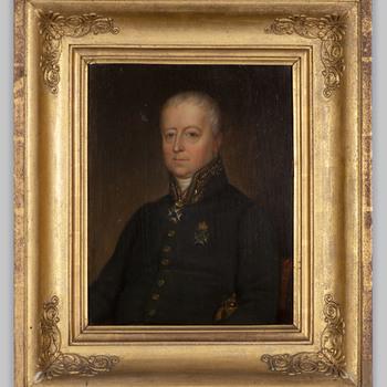 Portret van Willem Hendrik Alexander Carel baron van Heeckeren