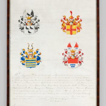 Admissie voor de Ridderschap Zutphen