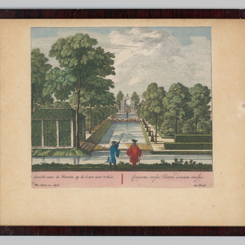 Fontein bij kasteel Rosendael