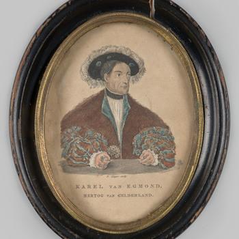 Portret van Karel van Egmond