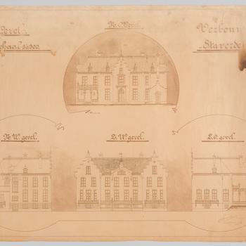 De gevels van kasteel Staverden