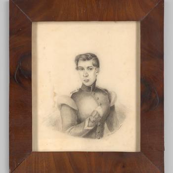 Portret van een man, waarschijnlijk Hermanus Gerbade Bouwens van Horssen