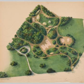 Tuinontwerp voor huis Schaffelaar