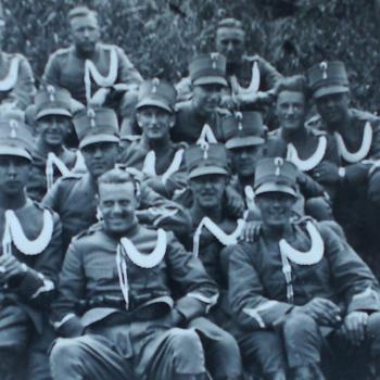 Hollandse soldaten.  WOII.