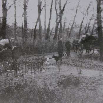 evacuatie najaar 1944.  WOII.